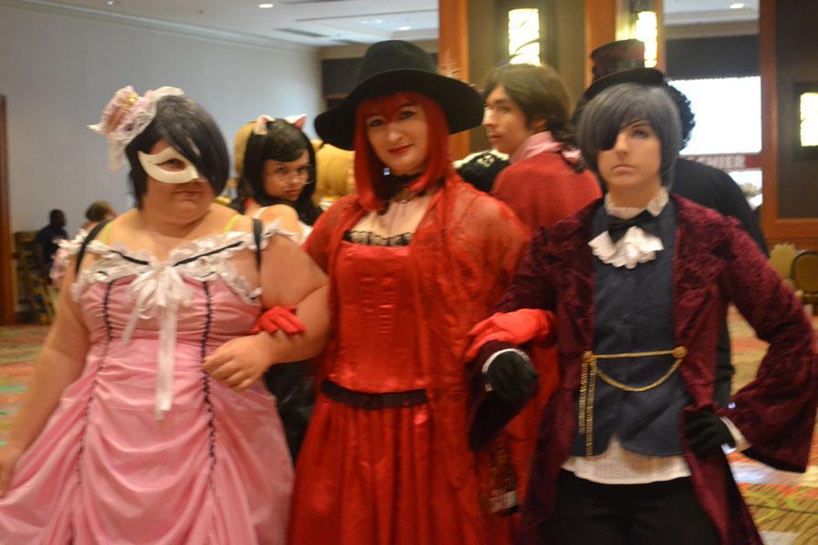 Ciela Phantomive, Madame Red, & Ciel Phantomhive