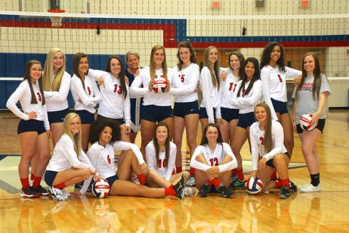 2015-16 Varsity Volleyball Team
