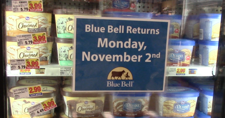 Other+brands+will+have+to+soon+make+way+for+Blue+Bell+as+it+returns+to+stores.+%28Photo+by+Kayla+M%29