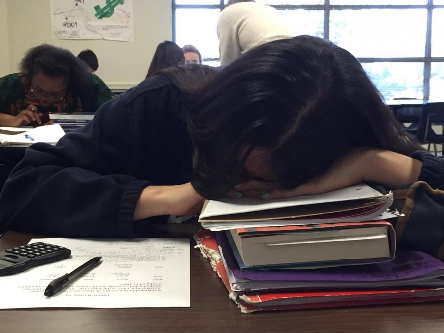Power nap during Economics