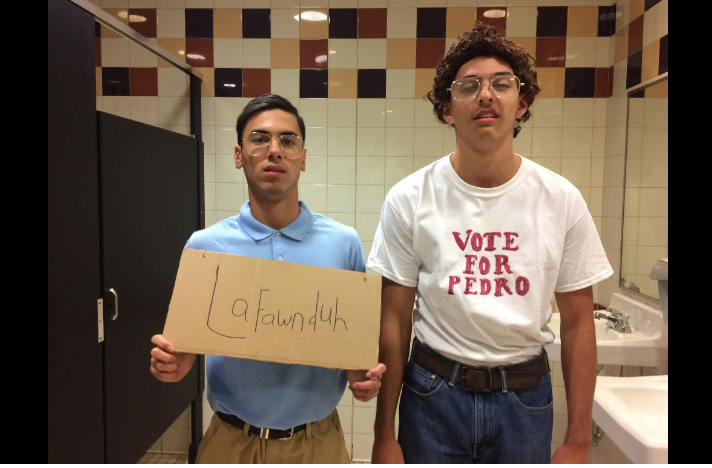 Students dress as characters from Napoleon Dynamite