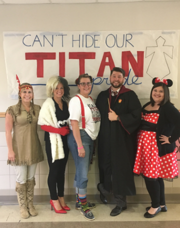 CHS Staff members dress as some of their favorite characters