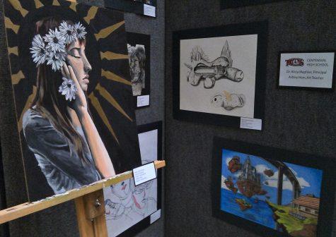 Centennial Students Shine at Art Show