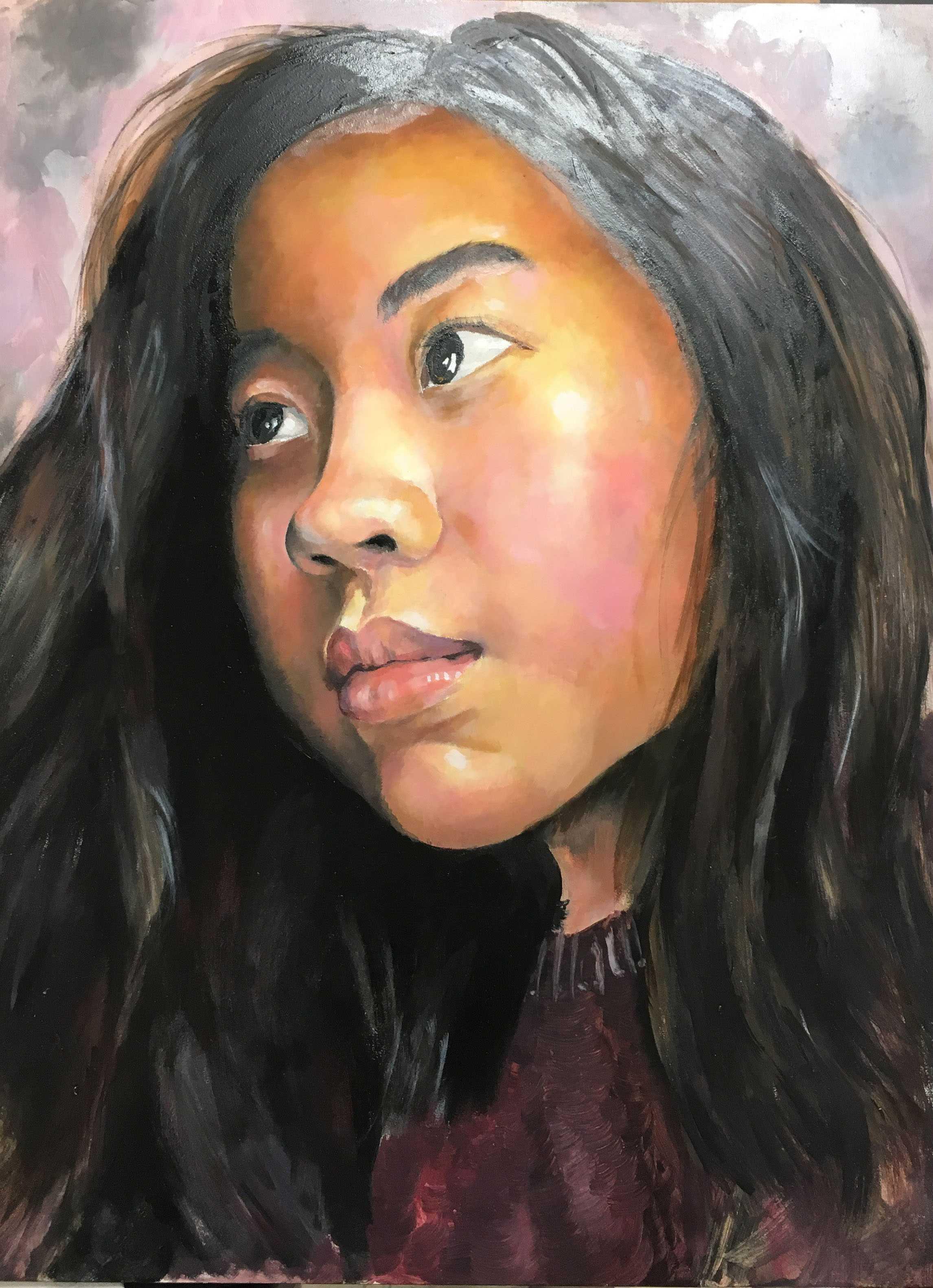 Jessica Nguyen's portrait,