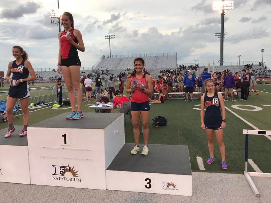 Sabrina Rolandelli Placed 3rd in her heat.