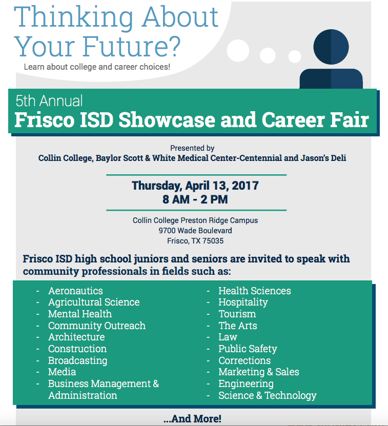 FISD+and+Collin+College+Showcase+and+Career+Fair