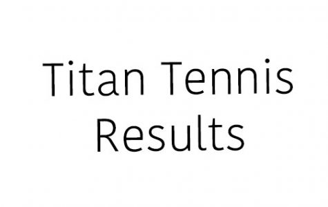 Titan Tennis Results