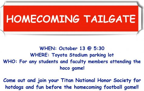NHS Homecoming Tailgate