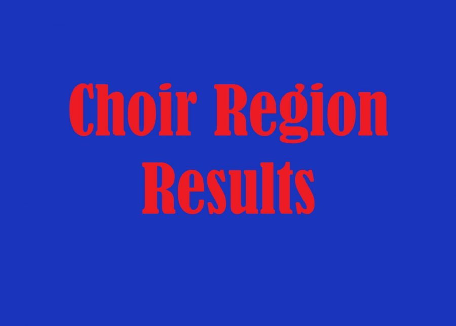 Choir+Region+Phase+2+Audition+Results