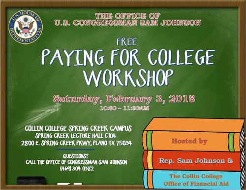 Paying for College Workshop