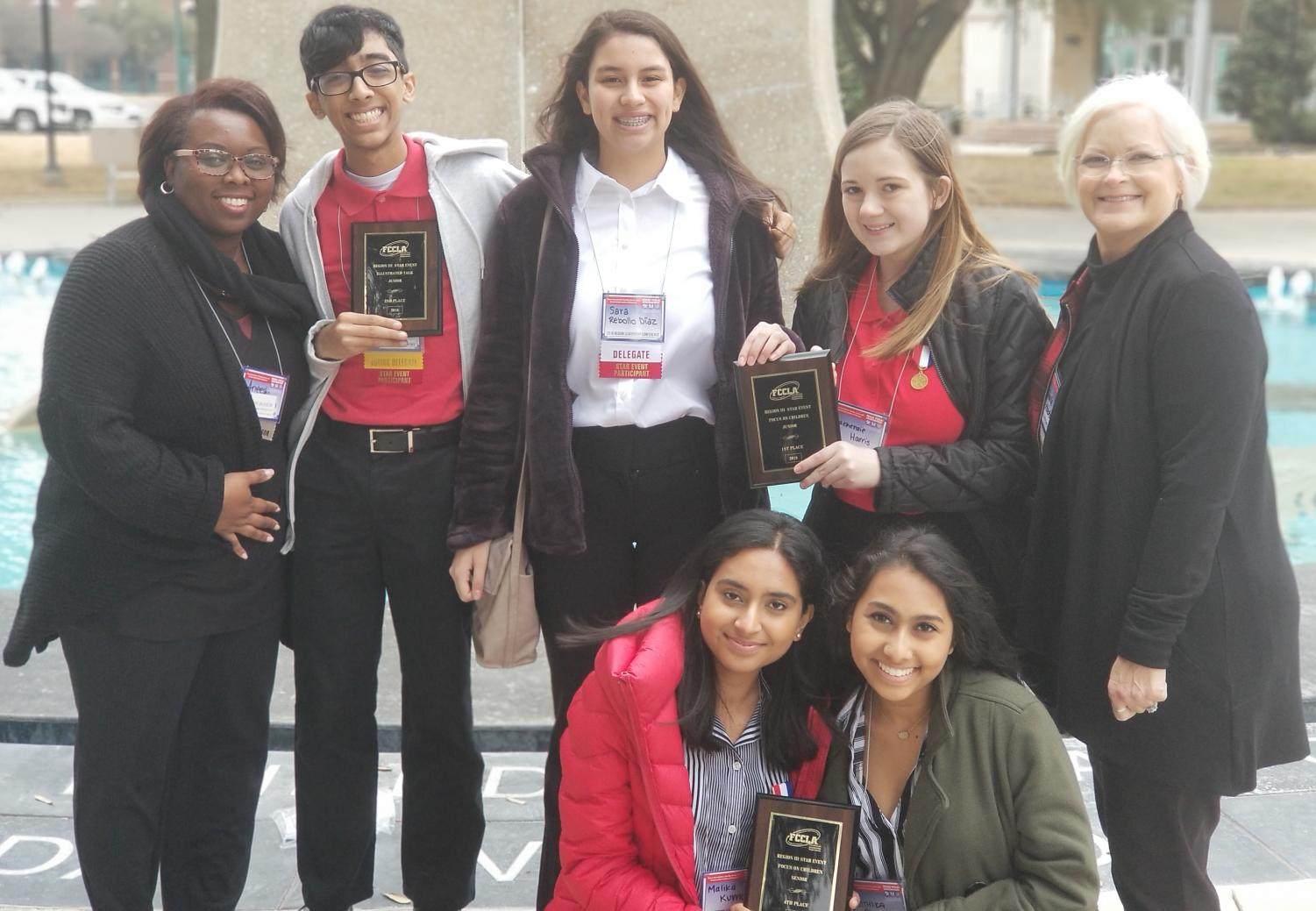 FCCLA students advance to State competition.