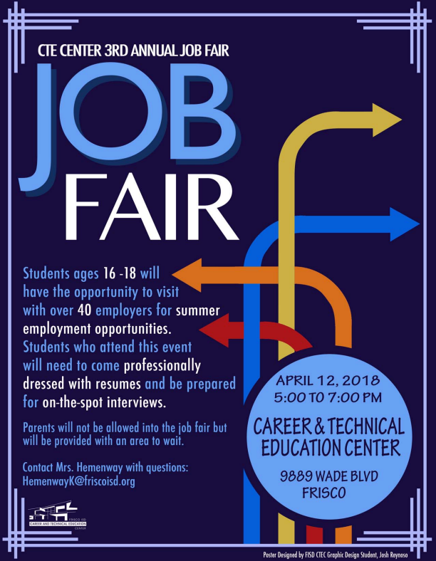 CTE+Center+3rd+Annual+Student+Job+Fair