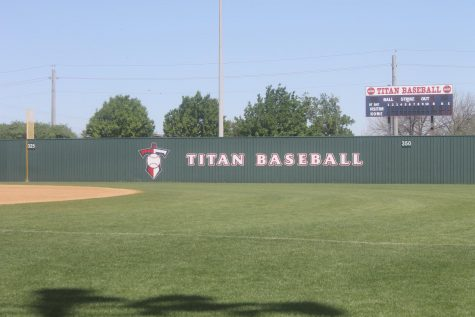 The Titan baseball field.