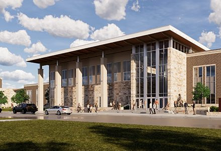 FISD rendering of Emerson High School