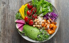 All vegan salad bowl
