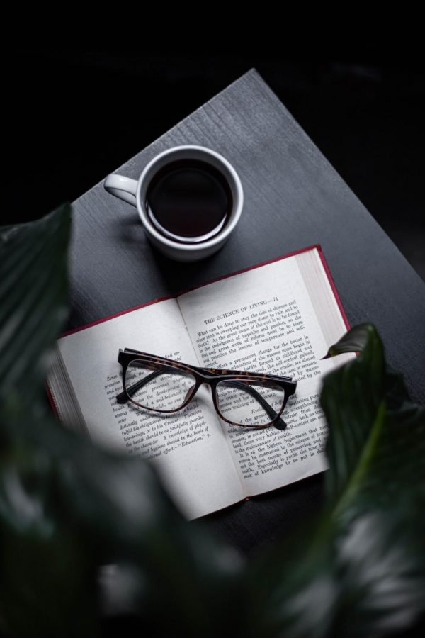Source: pexels.com, Oziel Gómez, book with glasses and coffee